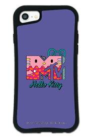 ケースオクロック caseoclock iPhone6/6s/7/8 WAYLLY-MK × MTV × ハローキティ セット ドレッサー 80s パープル mkmtvk-set-678-80pp