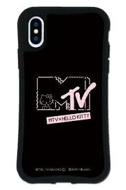 ケースオクロック caseoclock iPhoneX/XS WAYLLY-MK × MTV × ハローキティ セット ドレッサー カワイイポップ ロゴブラック mkmtvk-set-x-kbl