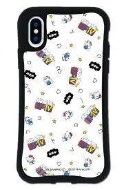 ケースオクロック caseoclock iPhoneX/XS WAYLLY-MK × MTV × ハローキティ セット ドレッサー ファンポップ ホワイト mkmtvk-set-x-fwh