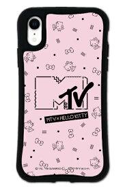 ケースオクロック caseoclock iPhoneXR WAYLLY-MK × MTV × ハローキティ セット ドレッサー カワイイポップ ロゴピンク mkmtvk-set-xr-kpk