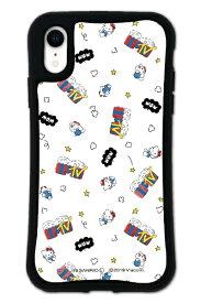 ケースオクロック caseoclock iPhoneXR WAYLLY-MK × MTV × ハローキティ セット ドレッサー ファンポップ ホワイト mkmtvk-set-xr-fwh