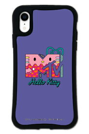 ケースオクロック caseoclock iPhoneXR WAYLLY-MK × MTV × ハローキティ セット ドレッサー 80s パープル mkmtvk-set-xr-80pp