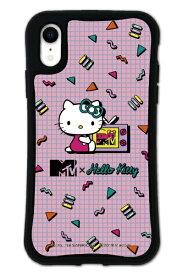 ケースオクロック caseoclock iPhoneXR WAYLLY-MK × MTV × ハローキティ セット ドレッサー 80s ピンク mkmtvk-set-xr-80pk