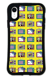 ケースオクロック iPhoneXR WAYLLY-MK × MTV × ハローキティ セット ドレッサー 80s イエロー mkmtvk-set-xr-80ye