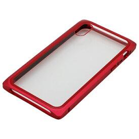 バウト BAUT iPhoneXS・X用 マグネットアルミバンパー BMABC1814RD レッド