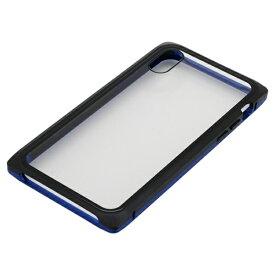 バウト BAUT iPhoneXS・X用 マグネットアルミバンパー BMABC1814BLBK ブルーブラック