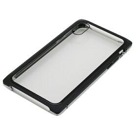 バウト BAUT iPhoneXS・X用 マグネットアルミバンパー BMABC1814SVBK シルバーブラック