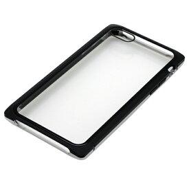 バウト BAUT iPhone8・7用 マグネットアルミバンパー BMABC1815SVBK シルバーブラック