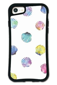 ケースオクロック caseoclock iPhone6/6s/7/8 WAYLLY-MK ×NiCORON 【セット】 ドレッサー シェル ホワイト mkncr-set-678-wht