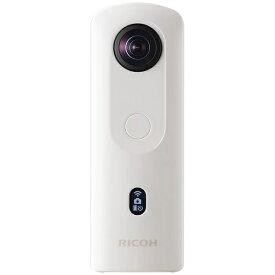 リコー RICOH RICOH THETA SC2 360°カメラ THETA SC2(シータ) ホワイト [4K対応][360度カメラ RICOHTHETASC2WH]