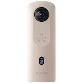 リコー RICOH RICOH THETA SC2 360°カメラ THETA SC2(シータ) ベージュ [4K対応][360度カメラ RICOHTHETASC2BE]
