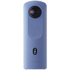 リコー RICOH RICOH THETA SC2 360°カメラ THETA SC2(シータ) ブルー [4K対応][360度カメラ RICOHTHETASC2BL]