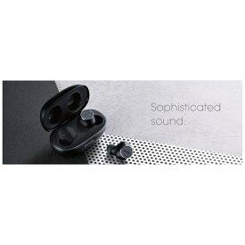 マクセル Maxell フルワイヤレスイヤホン MXH-BTW2000BK ブラック [ワイヤレス(左右分離) /Bluetooth][MXHBTW2000BK]