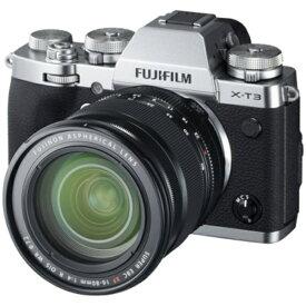 富士フイルム FUJIFILM X-T3 ミラーレス一眼カメラ XF16-80mmレンズキット シルバー [ズームレンズ][FXT3LK1680S]