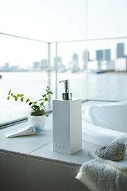 山崎実業 Yamazaki ミスト 2WAYディスペンサースクエアシャンプー(ホワイト)(2 Way Dispenser Mist Square Shampoo WH) 07890 ホワイト