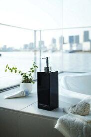 山崎実業 Yamazaki ミスト 2WAYディスペンサースクエアコンディショナー(ブラック)(2 Way Dispenser Mist Square Conditioner BK) 07894 ブラック
