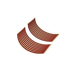 バイクパーツセンター BIKE PARTS CENTER 901821 17インチ用リムステッカー 赤