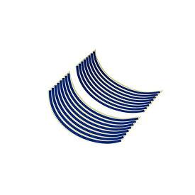 バイクパーツセンター BIKE PARTS CENTER 901822 17インチ用リムステッカー 青