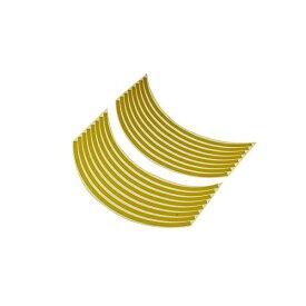 バイクパーツセンター BIKE PARTS CENTER 901823 17インチ用リムステッカー 黄
