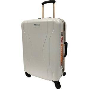 WorldTraveler(ワールドトラベラー) スーツケース 58L ワールドトラベラー(World Traveler) コヴァーラム(KOVALAM) ホワイト 06581-06 [TSAロック搭載]
