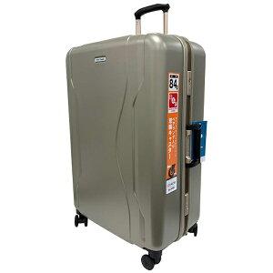 WorldTraveler(ワールドトラベラー) スーツケース 84L ワールドトラベラー(World Traveler) コヴァーラム(KOVALAM) ゴールド 06583-13 [TSAロック搭載]