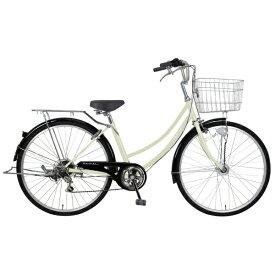 MARCLE 26型 自転車 リブレットホーム 266-B(ベージュ/6段変速)MK-20-059【2020年モデル】【組立商品につき返品不可】 【代金引換配送不可】