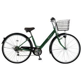 MARCLE 27型 自転車 リブレットシティ 276-B(ダークグリーン/6段変速)MK-20-060【2020年モデル】【組立商品につき返品不可】 【代金引換配送不可】