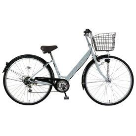 MARCLE 27型 自転車 リブレットシティ 276-B(グレー/6段変速)MK-20-060【2020年モデル】【組立商品につき返品不可】 【代金引換配送不可】