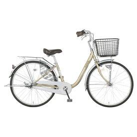 MARUKIN マルキン 26型 自転車 プチベル 263-B(ライトゴールド/3段変速)MK-20-033【2020年モデル】【組立商品につき返品不可】 【代金引換配送不可】
