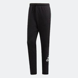 アディダス adidas メンズ パンツ マストハブ バッジ オブ スポーツ フリースパンツ(Oサイズ/ブラック×ホワイト) FSD51