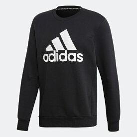 アディダス adidas メンズ スウェット マストハブ バッジ オブ スポーツ スウェットシャツ(Oサイズ/ブラック) FWQ81