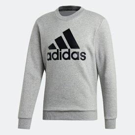 アディダス adidas メンズ スウェット マストハブ バッジ オブ スポーツ スウェットシャツ(Mサイズ/ミディアムグレイヘザー) FWQ81
