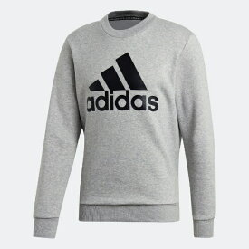 アディダス adidas メンズ スウェット マストハブ バッジ オブ スポーツ スウェットシャツ(Oサイズ/ミディアムグレイヘザー) FWQ81