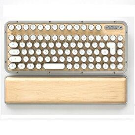 AZIO アジーオ MK-RCK-W-02-JP キーボード レトロクラシック メープル [Bluetooth・USB /有線・ワイヤレス][MKRCKW02JP]