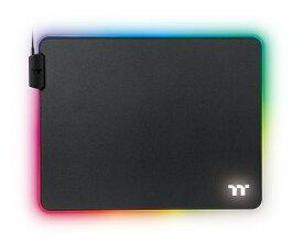 THERMALTAKE サーマルテイク GMP-LVT-RGBHMS-01 ゲーミングマウスパッド TT PREMIUM GAMING LEVEL 20 RGB Mousepad Hard Medium[370x290x4mm] RGB[GMPLVTRGBHMS01]