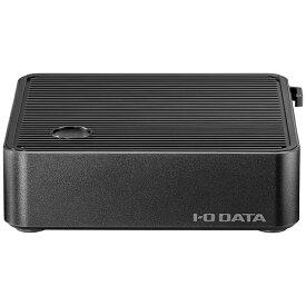 I-O DATA アイ・オー・データ MPC-32WE1 サイネージ向けパソコン miniPC ブラック [モニター無し /intel Celeron /メモリ:4GB /eMMC:32GB /2019年12月モデル][MPC32WE1]