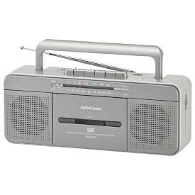 オーム電機 OHM ELECTRIC RCS-SU950R ステレオラジオカセットレコーダー USB再生・録音対応 AudioComm [ワイドFM対応][RCSSU950R]
