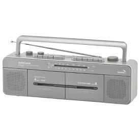 オーム電機 OHM ELECTRIC RCS-W960R ステレオダブルカセットレコーダー AudioComm [ワイドFM対応][RCSW960R]