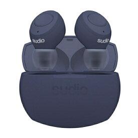SUDIO スーディオ フルワイヤレスイヤホン TOLV-R-NV ネイビー [リモコン・マイク対応 /ワイヤレス(左右分離) /Bluetooth][TOLVRNV]