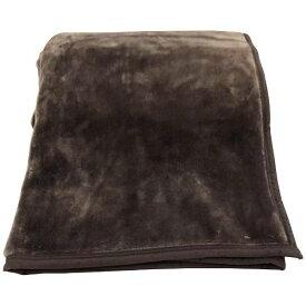 生毛工房 UMO KOBO ラフィーナニューマイヤー毛布(シングルサイズ/140×200cm/ブラウン)
