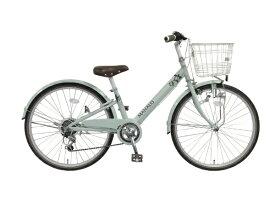タマコシ Tamakoshi 22型 子供用自転車 マハロ ジュニア(グリーン/外装6段変速)【組立商品につき返品不可】 【代金引換配送不可】