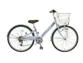 タマコシ Tamakoshi 24型 子供用自転車 マハロ ジュニア(ブルー/外装6段変速)【組立商品につき返品不可】 【代金引換配送不可】