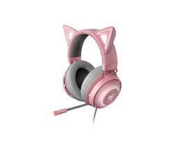RAZER レイザー RZ04-02980200-R3M1 ゲーミングヘッドセット Kraken Kitty クォーツピンク [USB /両耳 /ヘッドバンドタイプ]