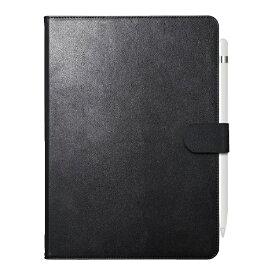 BUFFALO バッファロー 10.2インチ iPad(第7世代)用 2アングルレザーケース BSIPD19102CL2BK ブラック