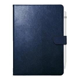 BUFFALO バッファロー 10.2インチ iPad(第7世代)用 2アングルレザーケース BSIPD19102CL2BL ブルー