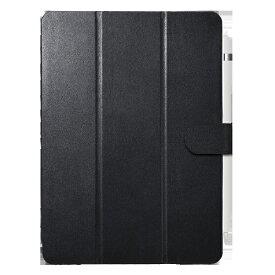 BUFFALO バッファロー 10.2インチ iPad(第7世代)用 3アングルレザーケース BSIPD19102CL3BK ブラック