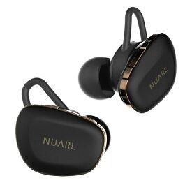 NUARL ヌアール フルワイヤレスイヤホン NUARL N6 Pro マットブラック N6PRO-MB [リモコン・マイク対応 /ワイヤレス(左右分離) /Bluetooth][N6PROMB]