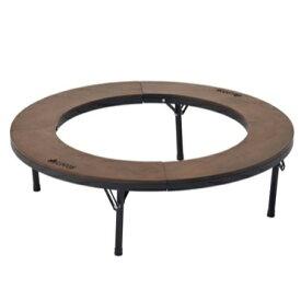 ロゴス LOGOS アイアンウッド囲炉裏サークルテーブルL(直径94.5×高さ27.5cm) 81064106