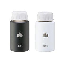 ロゴス LOGOS 携帯オアシス・トラベルボトル100【2pcs】(100ml/ホワイト&ブラック) 81284002