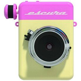 ESCURA アナログ インスタントカメラ instant camera PINK ESCURA-PK[ESCURAPK]
